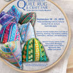 Simcoe County Quilt Rug and Craft Fair 2019